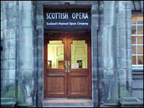 Scottish Opera office