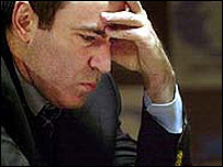 El ajedrecista ruso Garry Kasparov