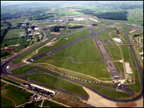 Silverstone race track