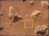 Mars soil, Nasa