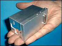 Moessbauer spectrometer, Nasa