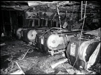 King's Cross underground station after the 1987 fire