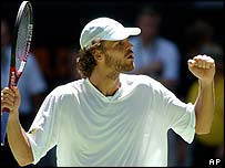 Gustavo Kuerten is a former world number one