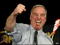 Democratic Party presidential hopeful Howard Dean