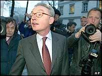 Former Mannesmann chief Klaus Esser