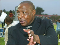 Former Bafana Bafana coach Ephraim Mashaba