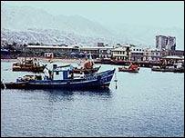Puerto de Antofagasta, Chile