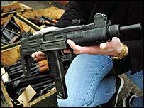 Gun haul