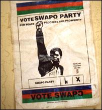 Swapo poster