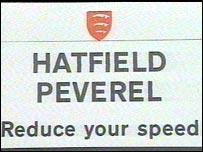 Hatfield Peverel sign