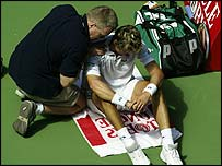Ferrero receives treatment