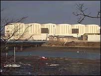 BAE shipyards in Barrow