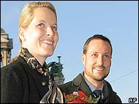 Crown Princess Mette-Marit and her husband Crown Prince Haakon
