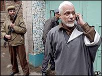 Kashmiri separatist leader Maulana Abbas Ansari