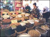 Iraq food stall