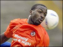 Trinidad striker Jason Scotland