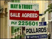 'House for sale' signs