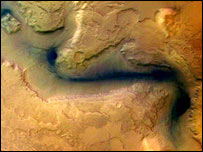 The Hellas basin, Esa