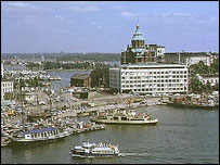 Finnish capital Helsinki
