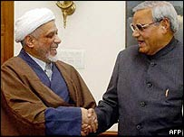 Maulana Abbas Ansari and Atal Behari Vajpayee