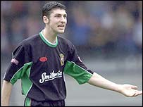 Glentoran captain Paul Leeman