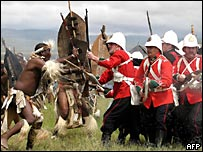 Re-enactment of the Battle of Isandhlwana