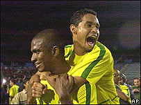 Jugadores de la sub 23 brasile�a