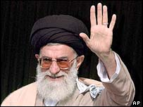 Iran's supreme leader Ayatollah Ali Khamenei