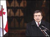 الرئيس الجورجي ميخائيل ساكاشفيلي