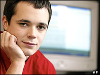 Teenager Mike Rowe
