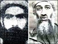 Mullah Mohammad Omar and Osama Bin Laden