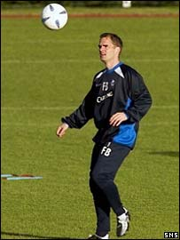 Frank de Boer has joined Rangers