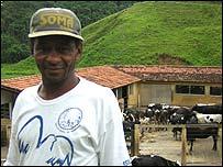 Moacir dos Santos, farm manager