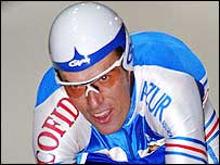 Philippe Gaumont during the 2003 world track championships
