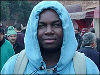 Rojas, Congolese student in Morocco