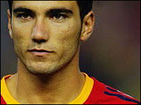Jose Antonio Reyes lines up for Spain