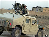 Humvee jeep in Iraq (archive)