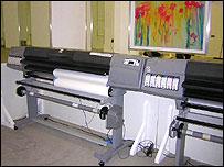 Huge printers