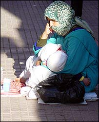 Moroccan beggar