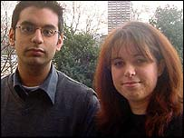 Rajesh Joshi and Kirsty Hickey