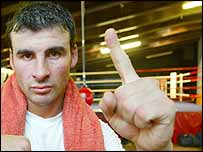 Calzaghe may escape the British winters in Florida