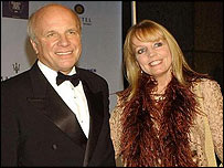 Greg Dyke and Susan Howes