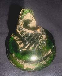 The Navenby witch bottle