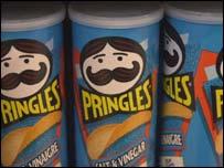 Pringles tubes, BBC