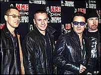 Irish rock group U2