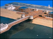 One design suggested for the restored pier