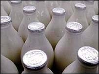 Milk stolen
