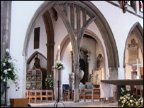 Chelmsford Cathedral - interior