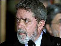 Brazilian President, Luis Inacio Lula da Silva