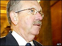 Former US chief arms inspector, David Kay